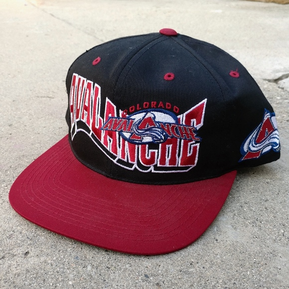 ff225e47a NHL Accessories | Vintage Colorado Avalanche Hockey Snapback Hat ...